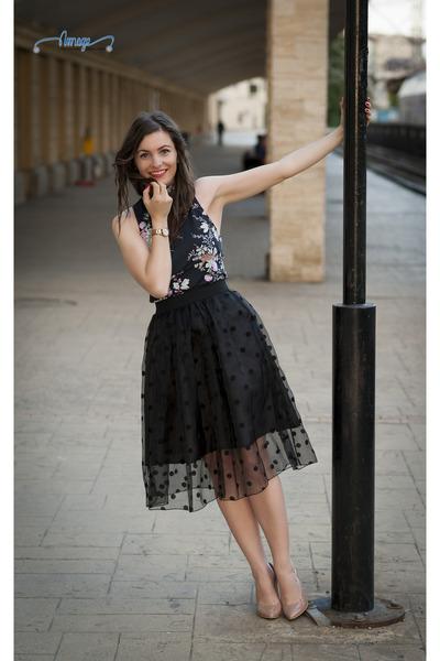 midi PERSUNMALL skirt - stiletto In Tempo heels