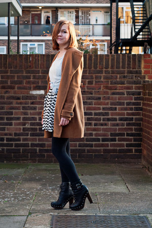light brown modcloth coat