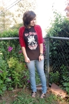 H&M sweater - Sister t-shirt - Delias jeans - Target shoes - miscellaneous brace