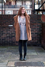 Heather-gray-target-tights-black-doc-martens-boots-periwinkle-asos-dress