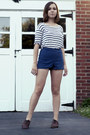 Brown-topshop-shoes-navy-american-apparel-shorts-white-monki-top