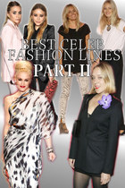 Best Celeb Fashion Lines: Part 2