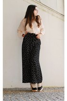 Jeffrey Campbell shoes - dotted H&M pants - H&M blouse