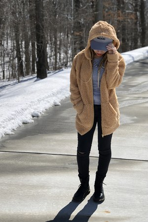 Charlotte Russe hat - Rue 21 jacket