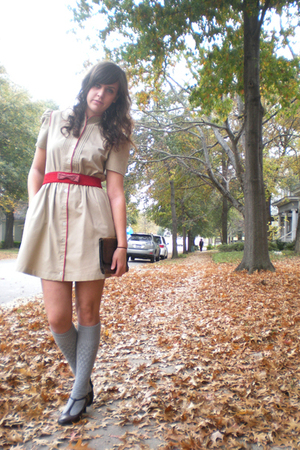 dress - belt - accessories - socks - shoes