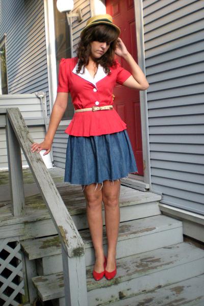 Stellas shirt - calvin klein skirt