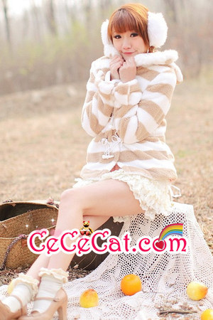 soft warm CeCeCat coat