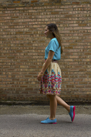 embroidered Posh Skirts skirt