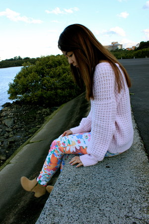 Zara jeans - kenji boots - Japan Markets jumper