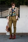 Dark-brown-topshop-shoes-camel-celine-blazer-green-hermes-shirt
