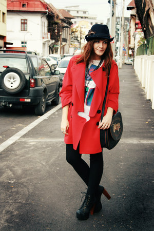 Pierre Cardin coat - Jeffrey Campbell shoes - vintage accessories