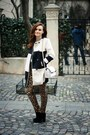 White-printed-oasap-coat-white-chain-zara-bag-tawny-leopard-print-zara-pants