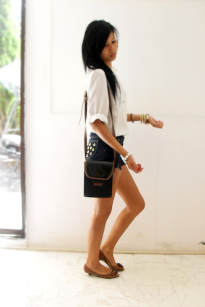 unknown shorts - unknown blouse - unknown accessories - accessories