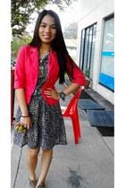 gifted dress - Customized blazer - MY loafers