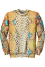 Snakeskin-chaincandy-sweatshirt