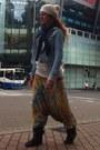 Handmade-by-me-hat-h-m-jacket-h-m-scarf-rip-curl-sweatshirt