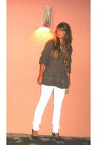 Guess jeans - Zara blouse - Stradivarius purse -  shoes