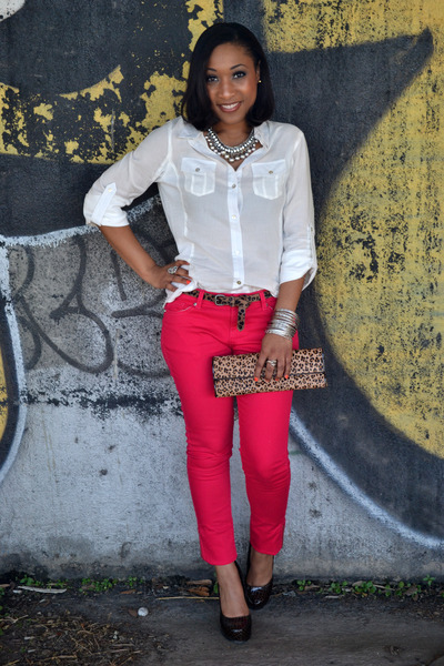 Red Skinny Love Culture Jeans, Clutch Aldo Purses, Forever 21 ...
