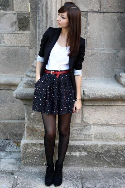 Jupe skirt - Blazer blazer