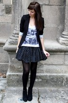 Blazer blazer - Jupe skirt - Tshirt t-shirt