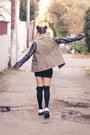 Ellison-apparel-jacket-flatforms-tuk-shoes-zipper-h-m-dress