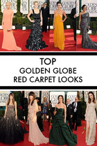 The Golden Globes Red Carpet - best looks