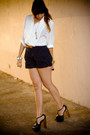 Thrifted-vintage-blouse-thrifted-vintage-shorts-jessica-simpson-shoes