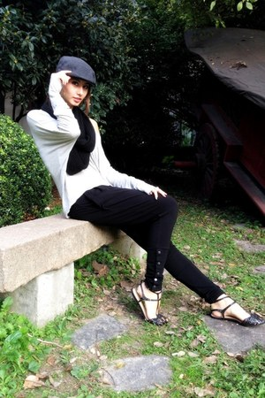 Zara shoes - H&M hat - Zara top - Forever 21 pants