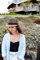 Forever 21 hat - Forever 21 shorts - Nordstrom top