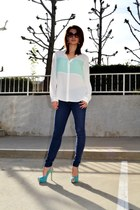 Enzo Angiolini shoes - 7 for all mankind jeans - Forever 21 blouse
