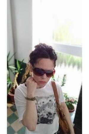 tawny shoulder bag F&F bag - dark brown ombre Cloud sunglasses