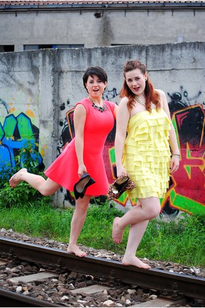 ruffled Orsay dress - H&M dress