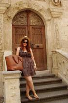 animal print pull&bear dress - Zara bag