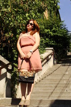 salmon pull&bear dress