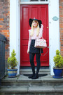 Light-pink-marks-and-spencers-bag-light-pink-new-look-jumper