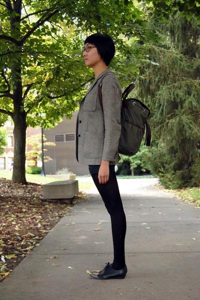 Ralph Lauren blazer - Target shoes - We Love Colors tights - bag - shorts