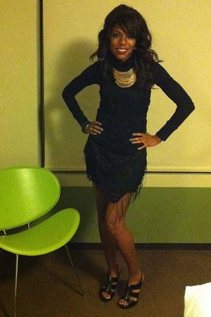 black Carlos Santana heels