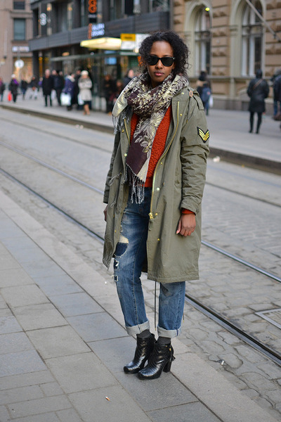 Ellos shoes - boyfriend Zara jeans - BikBok jacket