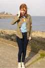 Navy-high-waisted-primark-jeans-light-brown-new-look-jacket