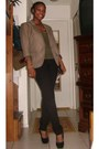 Taylor-delias-jeans-silk-lined-the-loft-blazer-suede-forever-21-heels