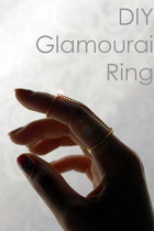 DIY Glamourai Ring