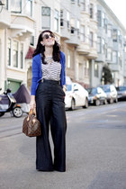 AG jeans - jeans - Rebecca Taylor sweater - Jcrew blouse