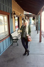 Black-leather-vince-camuto-boots-blue-gap-jeans-army-green-nordstrom-jacket