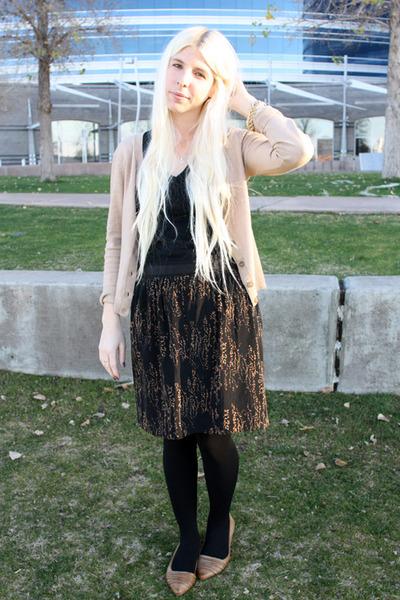 black Target shirt - black We Love Colors tights - black Gap skirt