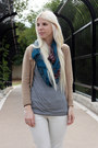 Blue-le-mode-accessories-scarf-dark-brown-minnetonkas-shoes