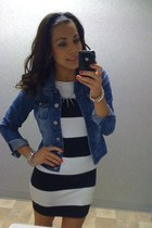 Forever21 dress - Wetseal jacket