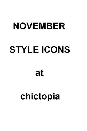 November Style Icon