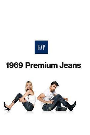 blue 1969 Gap jeans