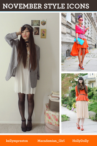 white dress - carrot orange dress