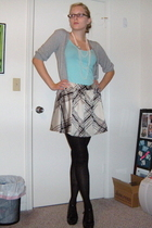Target sweater - Old Navy top - Target skirt - tights - Burlington coat factory